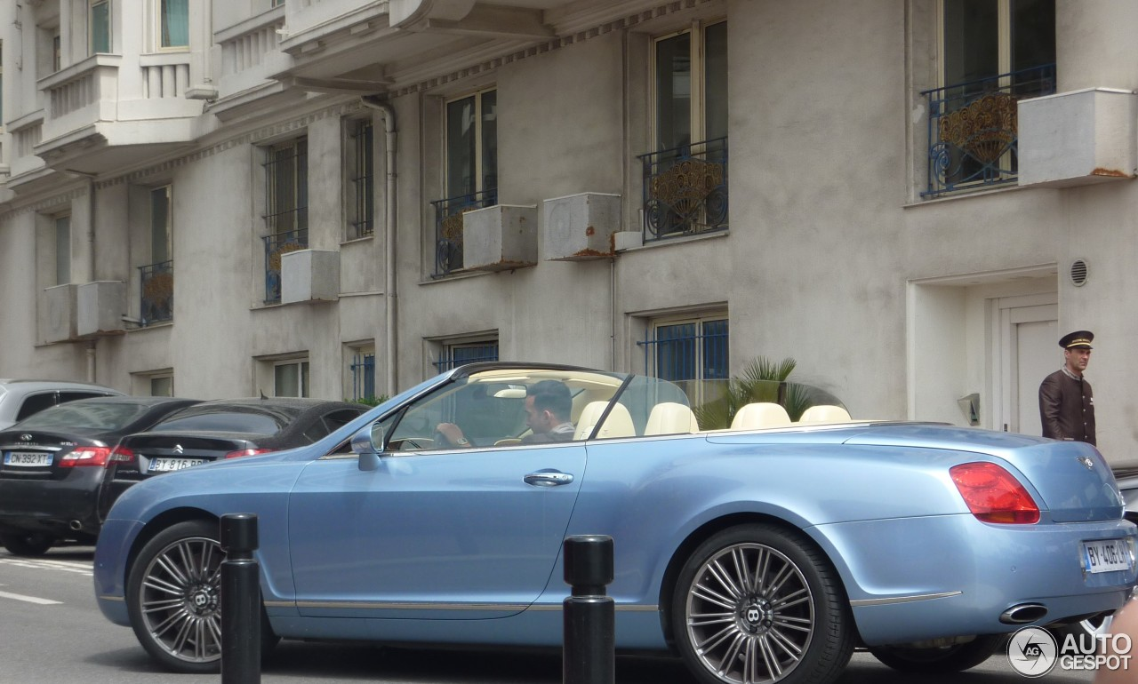 Bentley Continental GTC Speed 6