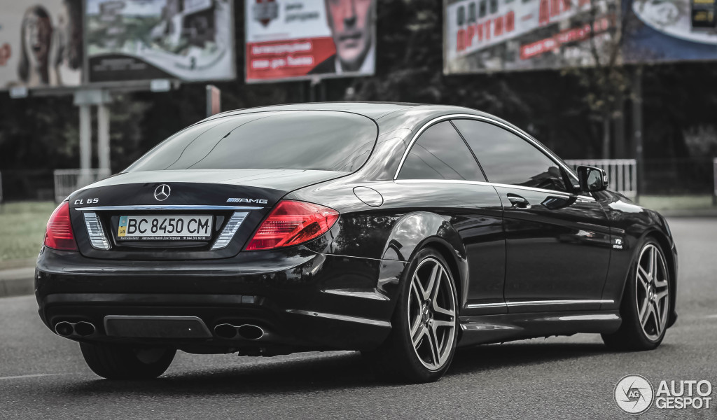 mercedes benz cl 65 amg c216 2011 2 january 2016 autogespot. Black Bedroom Furniture Sets. Home Design Ideas
