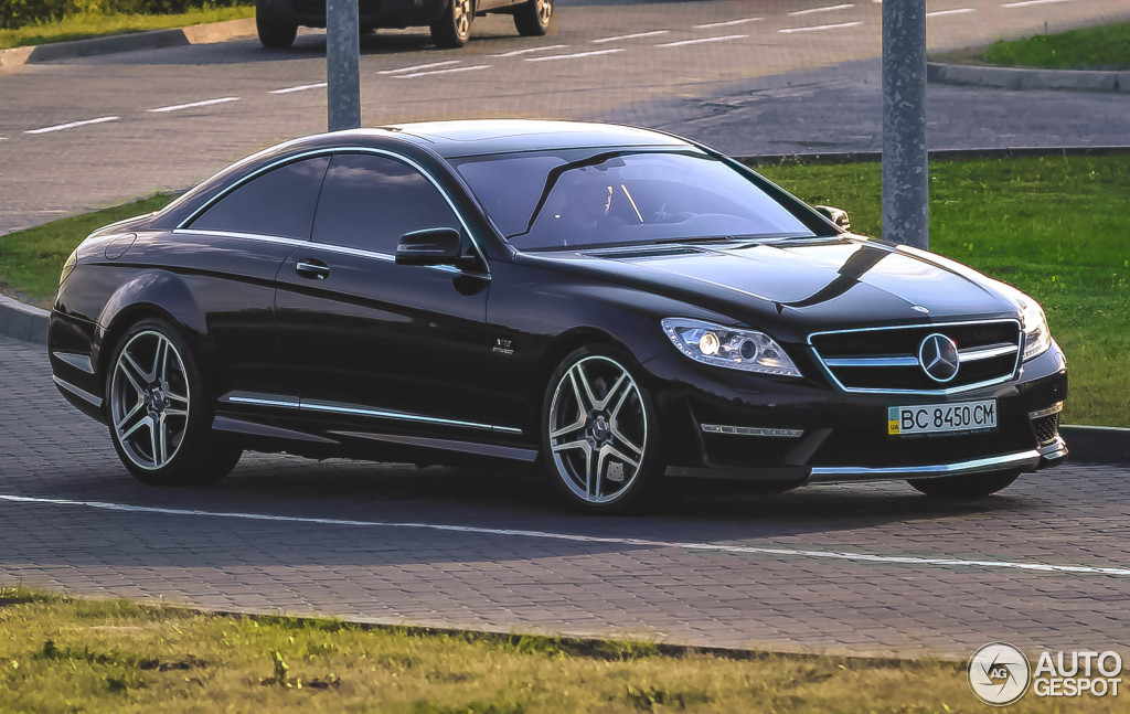 Mercedes Benz Cl 65 Amg C216 2011 2 January 2016