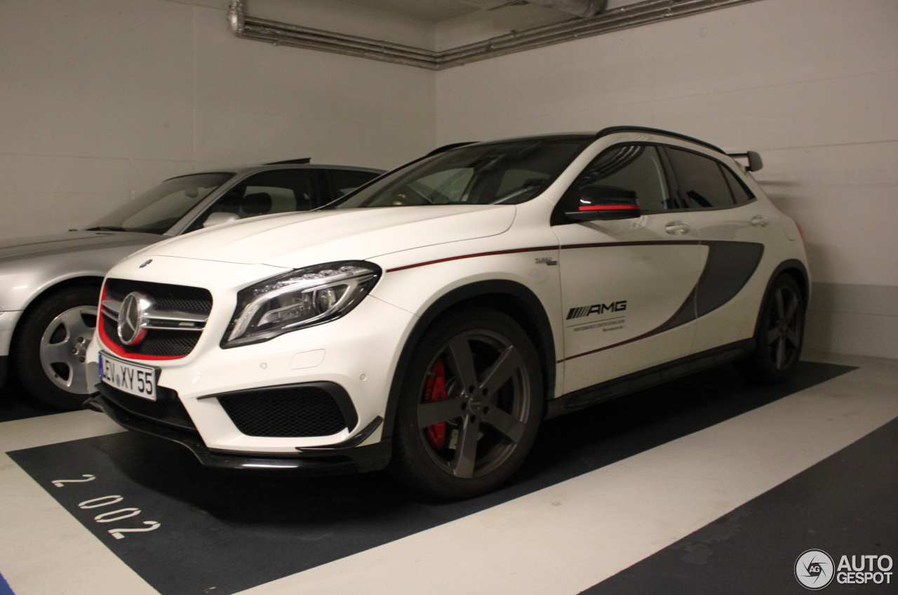 Mercedes benz gla 45 amg edition 1 2 january 2016 for Mercedes benz gla 45 amg for sale