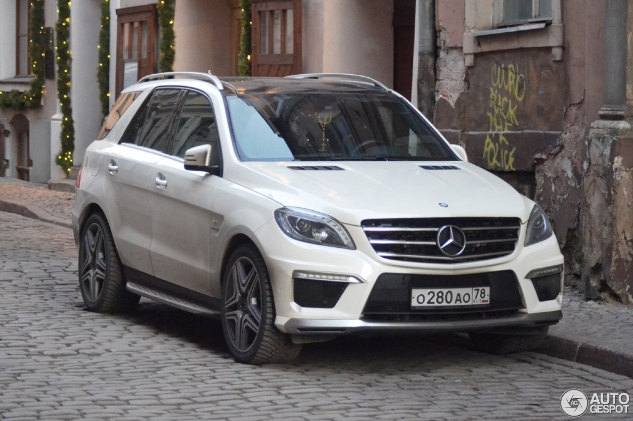 Mercedes Benz Ml 63 Amg W166 2 January 2016 Autogespot