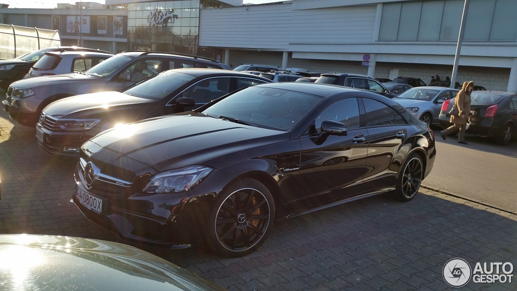 mercedes benz cls 63 amg s c218 2015 3 januar 2016 autogespot. Black Bedroom Furniture Sets. Home Design Ideas