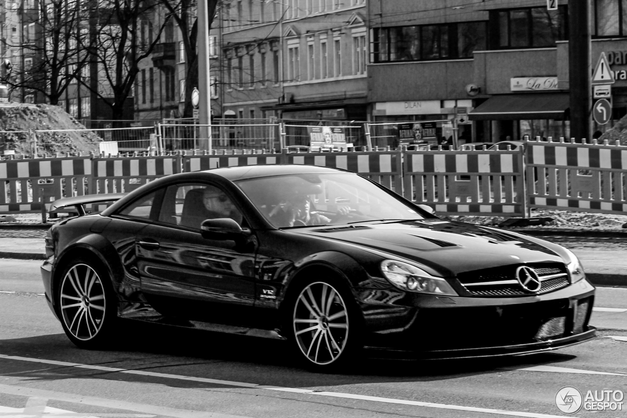 Mercedes benz sl 65 amg black series 3 january 2016 for Mercedes benz sl65 amg black series price