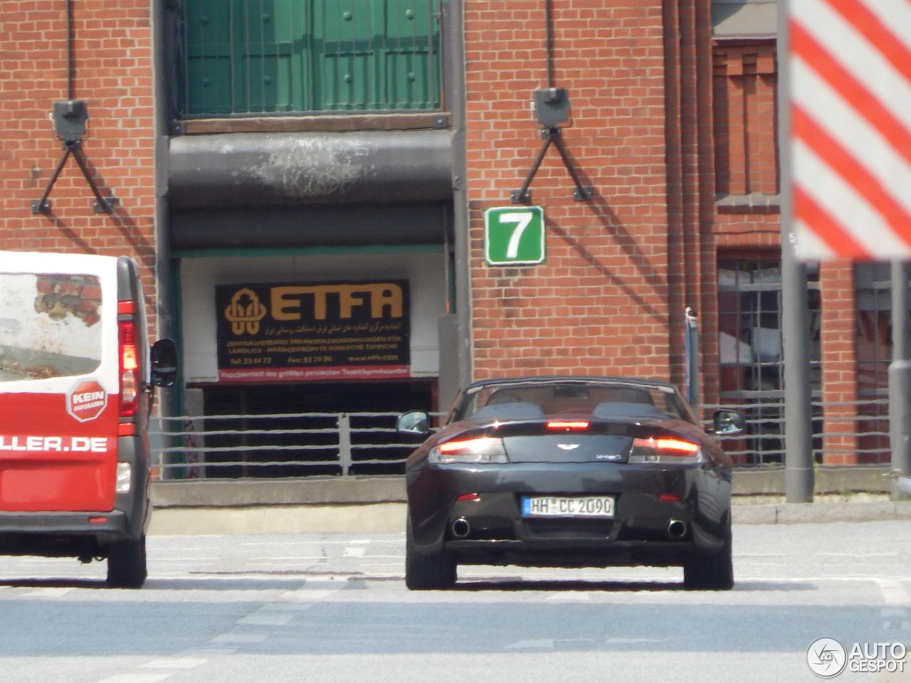 Aston Martin V8 Vantage S Roadster 4