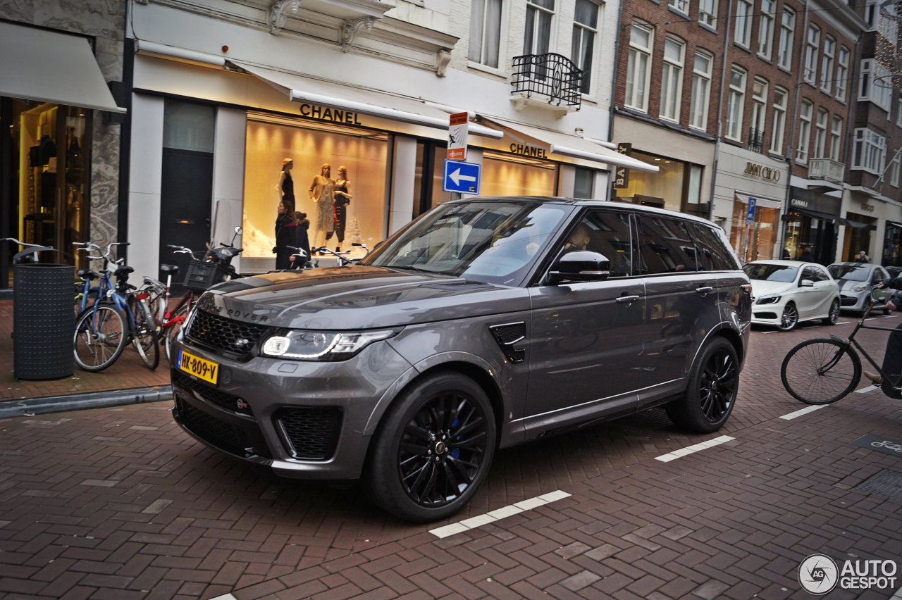 land rover range rover sport svr 4 january 2016 autogespot. Black Bedroom Furniture Sets. Home Design Ideas