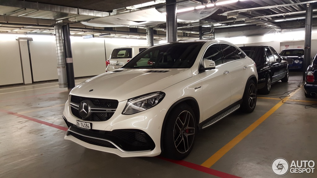 Mercedes Amg Gle 63 S Coup 233 4 January 2016 Autogespot