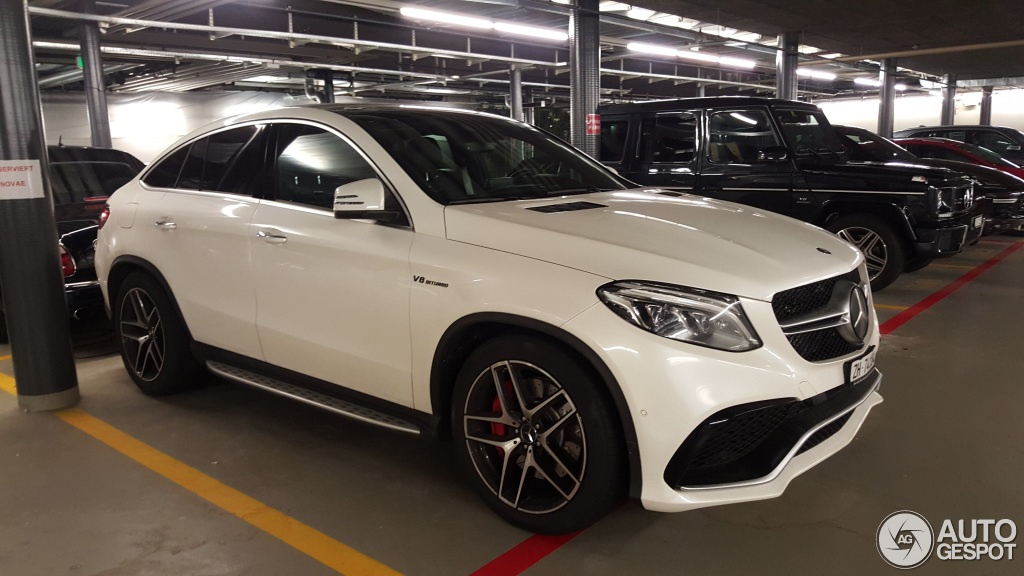 Mercedes amg gle 63 s coup 4 january 2016 autogespot for Mercedes benz amg gle 63