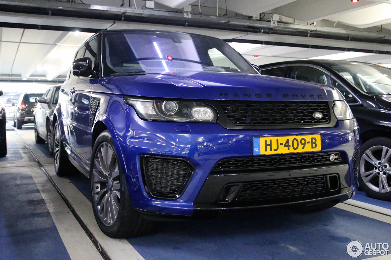 land rover range rover sport svr 6 janvier 2016 autogespot. Black Bedroom Furniture Sets. Home Design Ideas