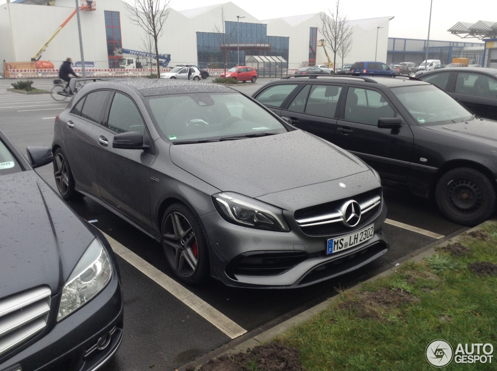 mercedes amg a 45 w176 2015 6 january 2016 autogespot. Black Bedroom Furniture Sets. Home Design Ideas