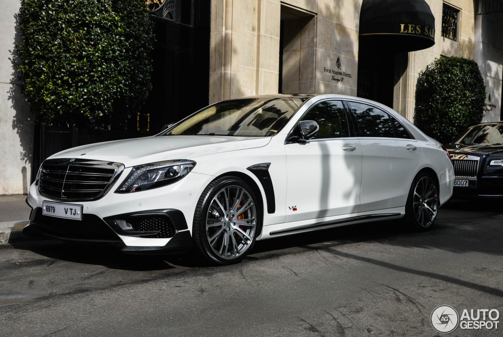 Mercedes Benz Brabus 900 Rocket 6 Januar 2016 Autogespot