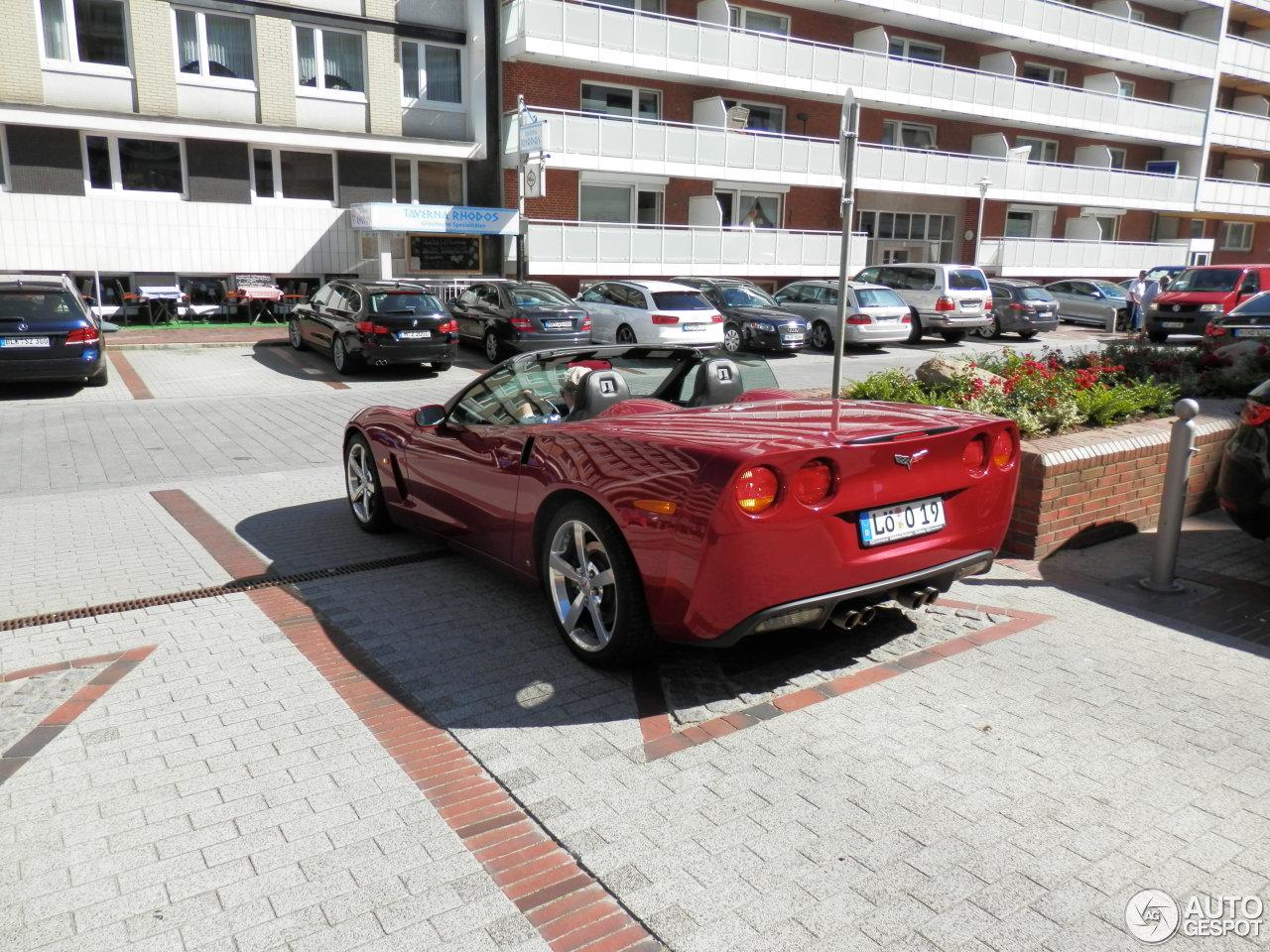 Chevrolet Corvette C6 Convertible 3