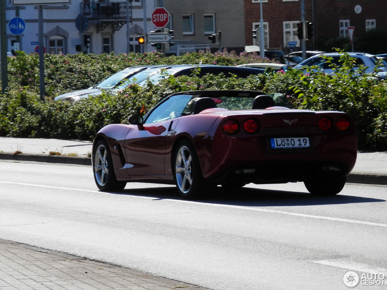 Chevrolet Corvette C6 Convertible 4