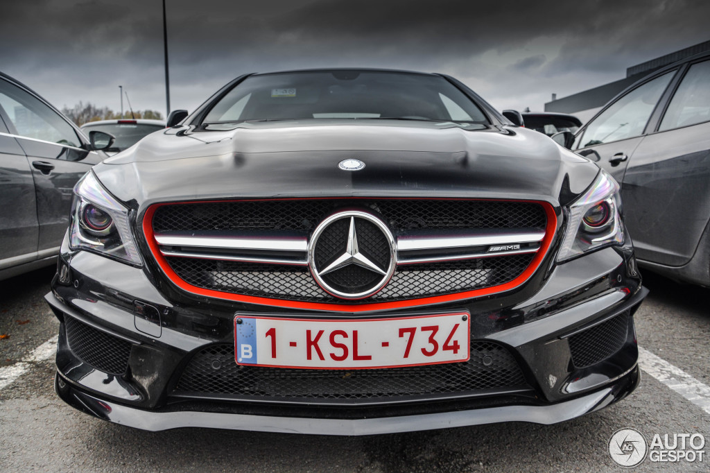 mercedes benz cla 45 amg edition 1 c117 8 januari 2016 autogespot. Cars Review. Best American Auto & Cars Review
