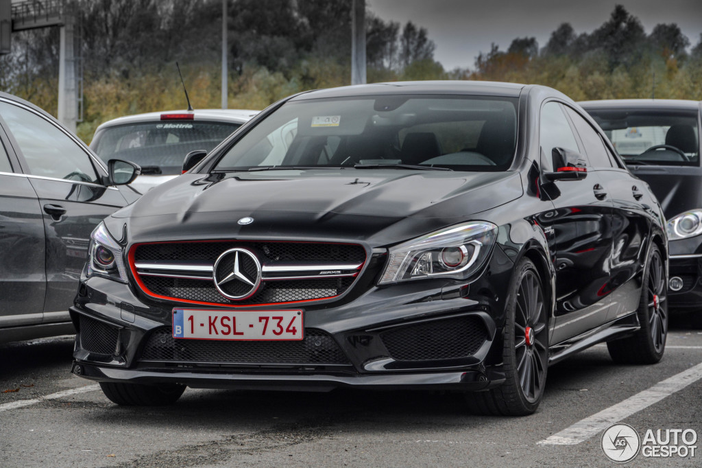 Mercedes Benz Cla 45 Amg Edition 1 C117 8 January 2016