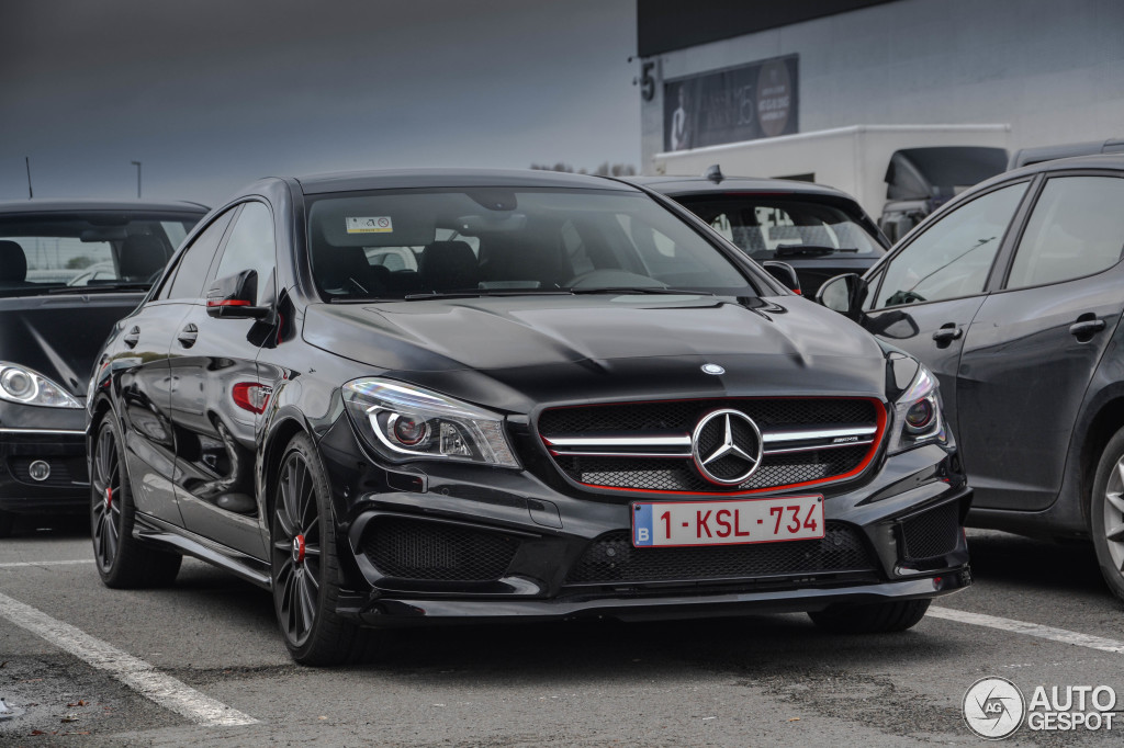 Mercedes benz cla 45 amg edition 1 c117 8 january 2016 for Mercedes benz amg cla 45