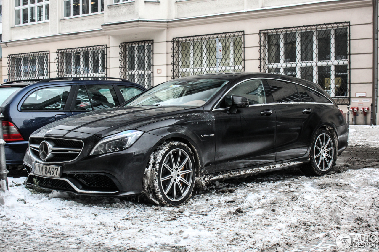 Mercedes benz cls 63 amg s x218 shooting brake 2015 8 for Mercedes benz cls 63 amg price