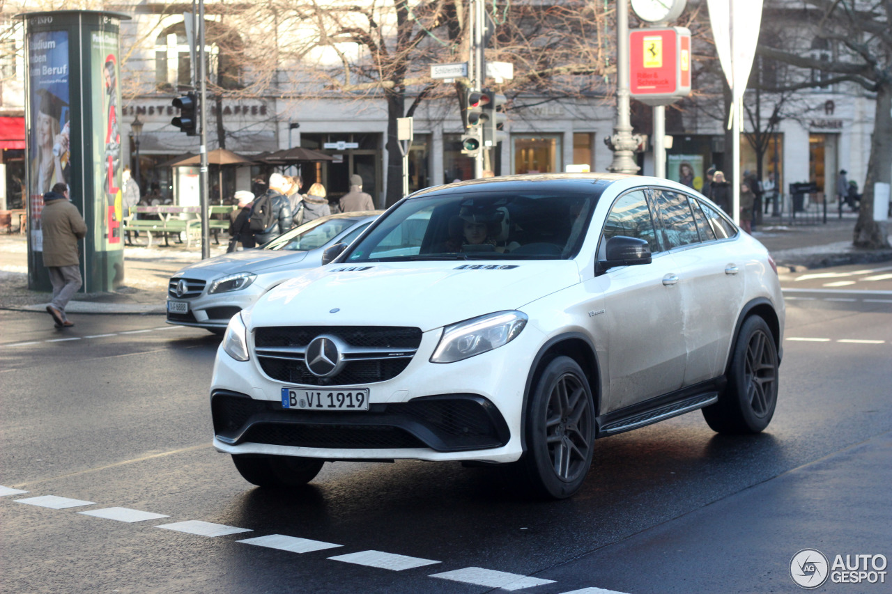 mercedes amg gle 63 s coup 9 january 2016 autogespot. Black Bedroom Furniture Sets. Home Design Ideas