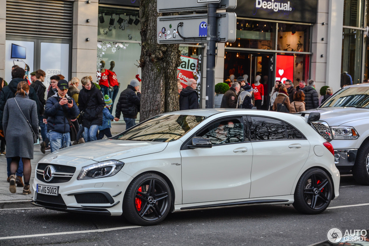 mercedes benz a 45 amg 10 januar 2016 autogespot. Black Bedroom Furniture Sets. Home Design Ideas