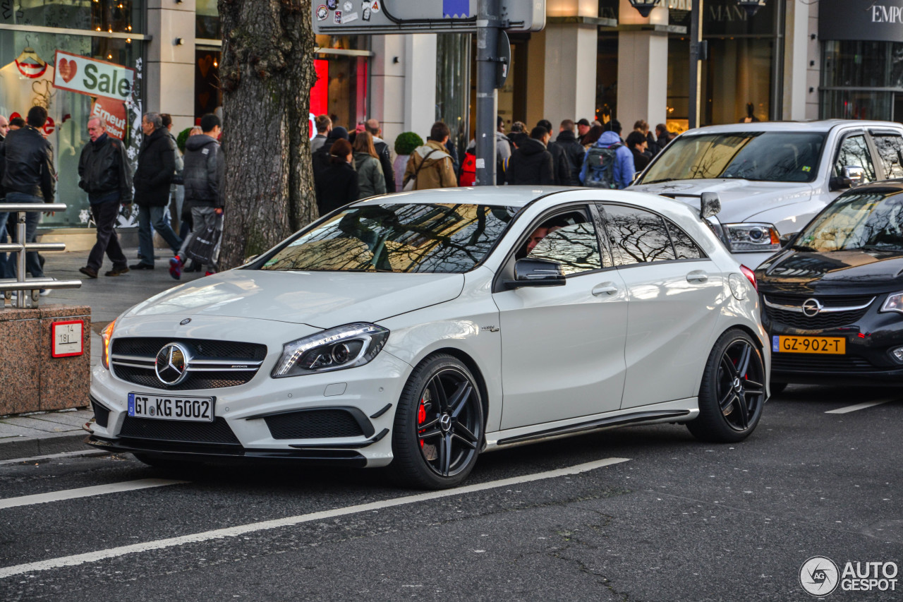 Mercedes benz a 45 amg 10 januar 2016 autogespot for Mercedes benz a 45