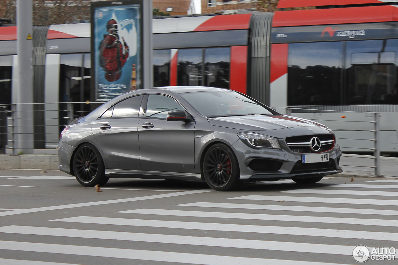 Mercedes benz cla 45 amg edition 1 c117 10 january 2016 for 2016 mercedes benz cla