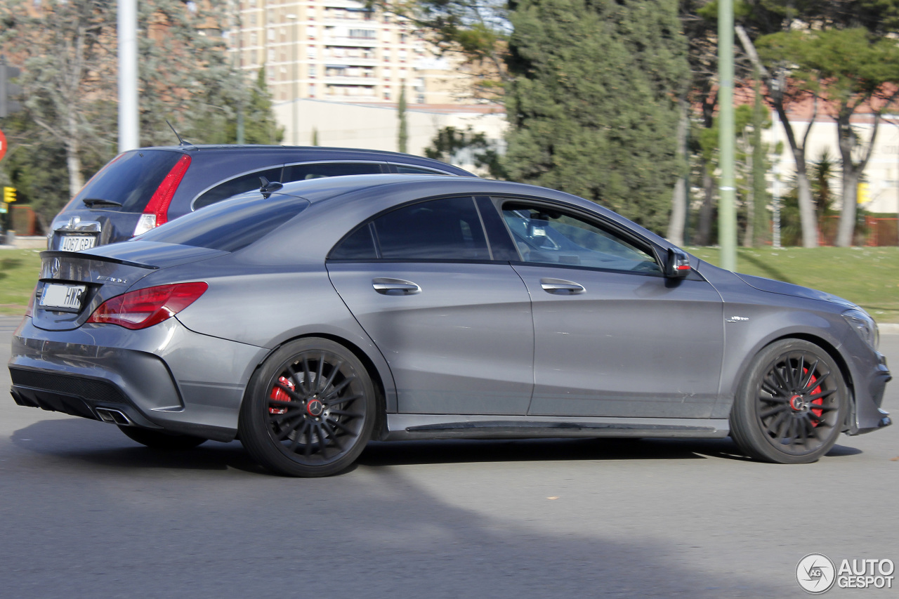 mercedes benz cla 45 amg edition 1 c117 10 january 2016 autogespot. Black Bedroom Furniture Sets. Home Design Ideas