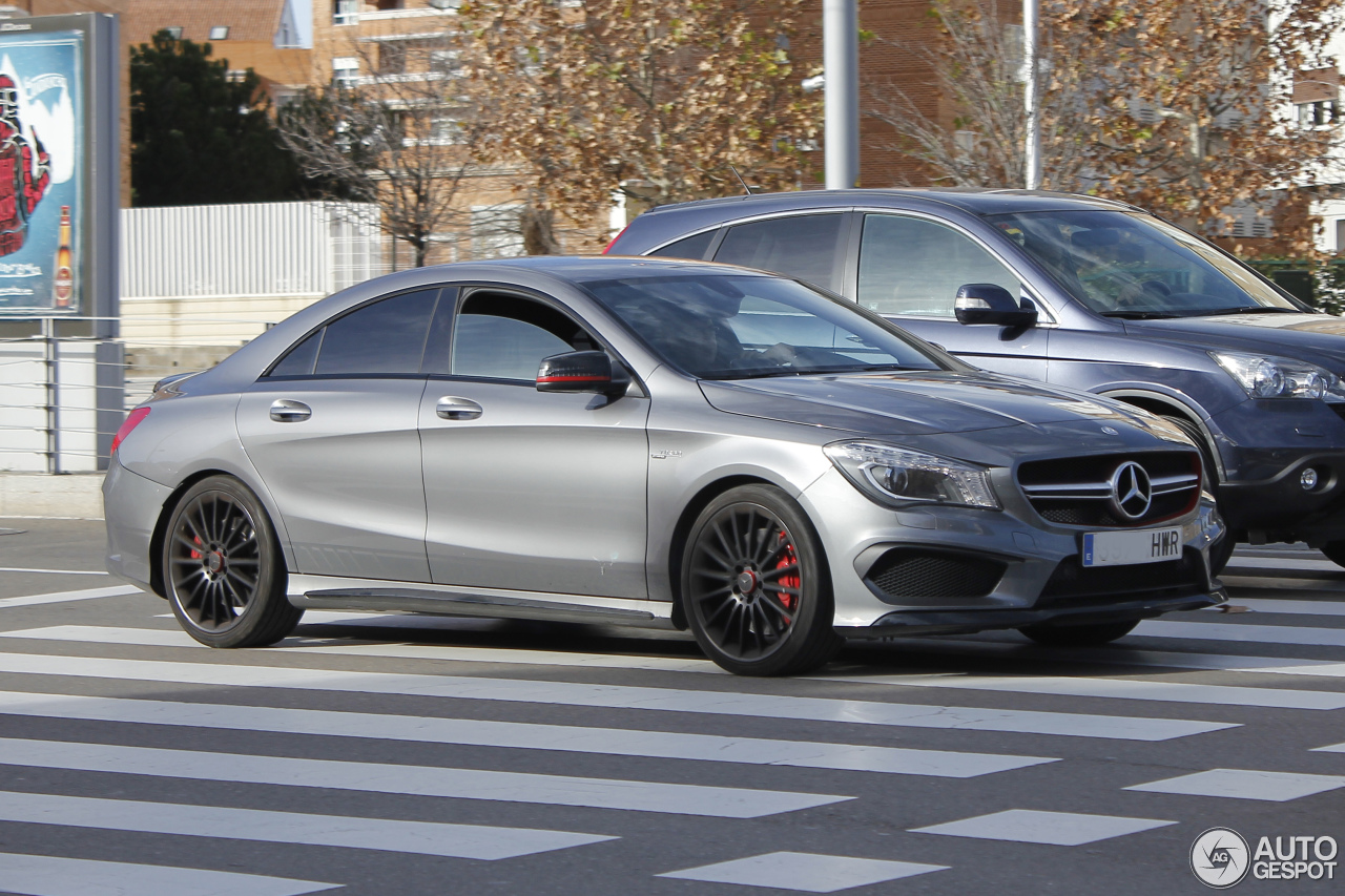 Mercedes cla 45 amg grey images for 2016 mercedes benz cla45 amg