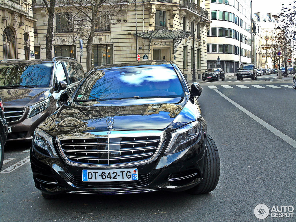 mercedes maybach s600 10 janvier 2016 autogespot. Black Bedroom Furniture Sets. Home Design Ideas