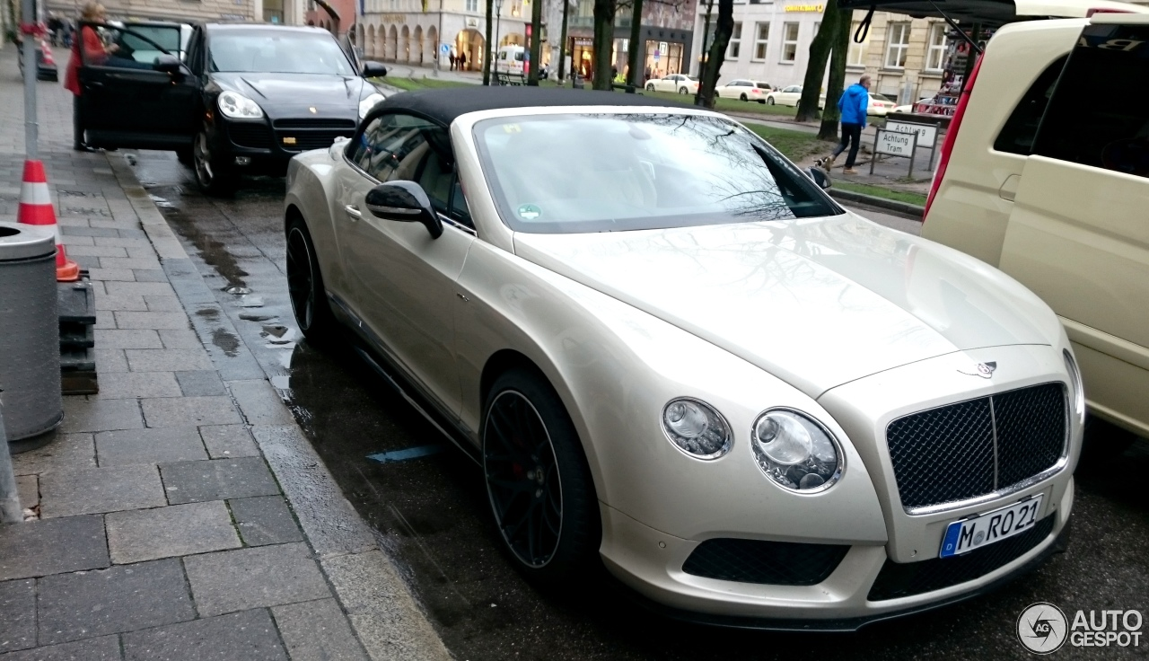 Bentley Continental GTC V8 S 1