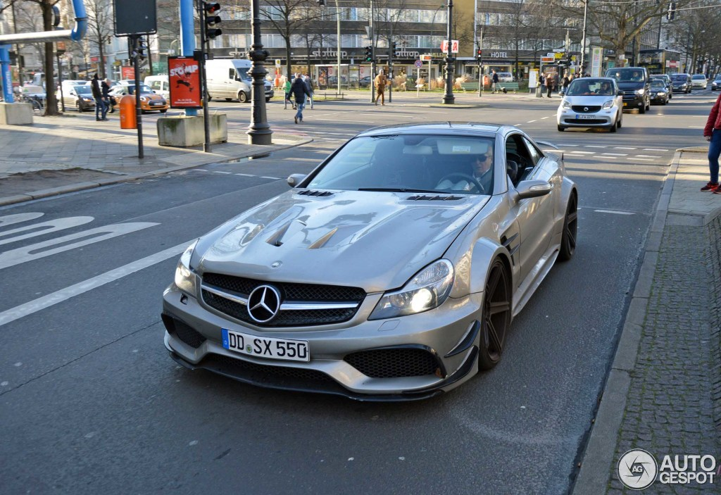 Mercedes benz suhorovsky design sl 55 amg 12 january for Mercedes benz s 55
