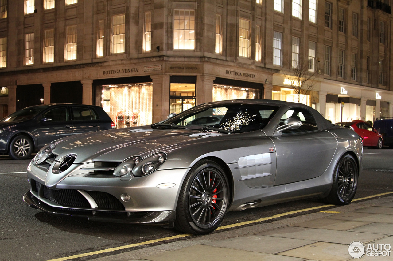 Mercedes benz slr mclaren roadster 722 s 12 january 2016 for Mercedes benz slr mclaren price