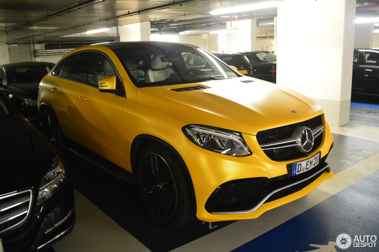Mercedes Amg Gle 63 S Coup 233 13 January 2016 Autogespot