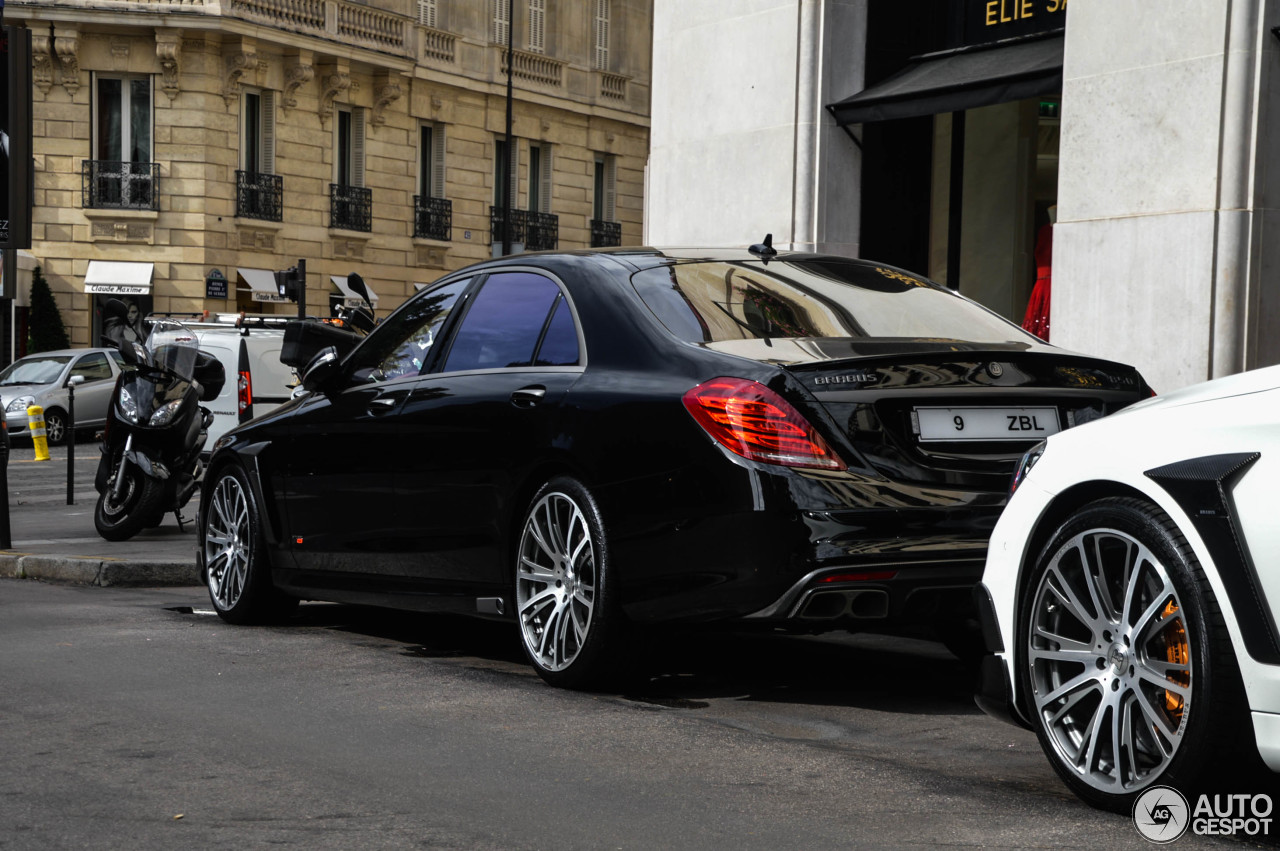 Mercedes benz brabus 850 6 0 biturbo v222 13 january for Mercedes benz brabus price