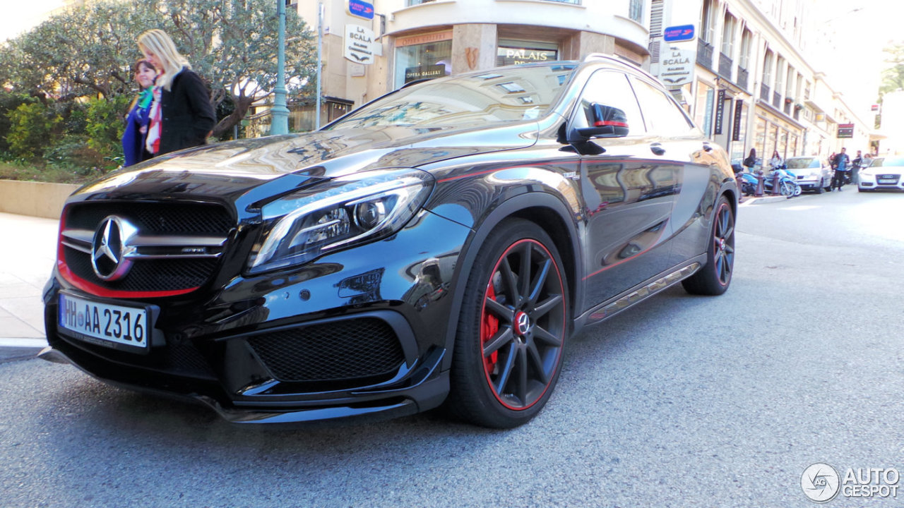 mercedes benz gla 45 amg edition 1 16 january 2016 autogespot. Black Bedroom Furniture Sets. Home Design Ideas