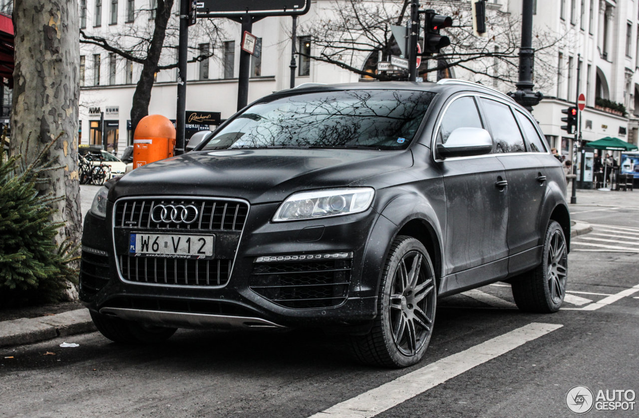 Audi Q7 V12 TDI - 17 January 2016 - Autogespot