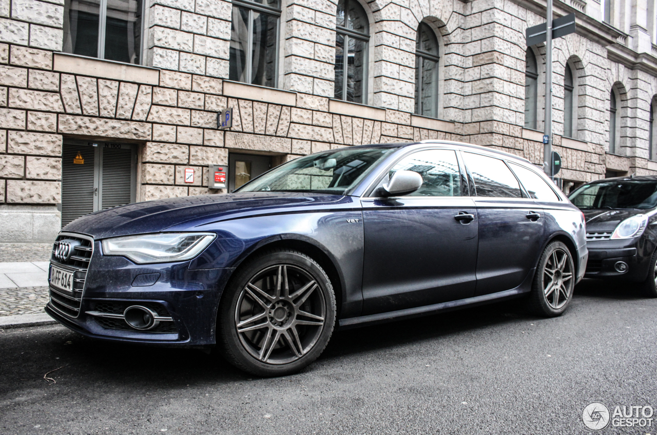 Audi s6 avant c7 17 january 2016 autogespot for Lunghezza audi a6 avant 2016