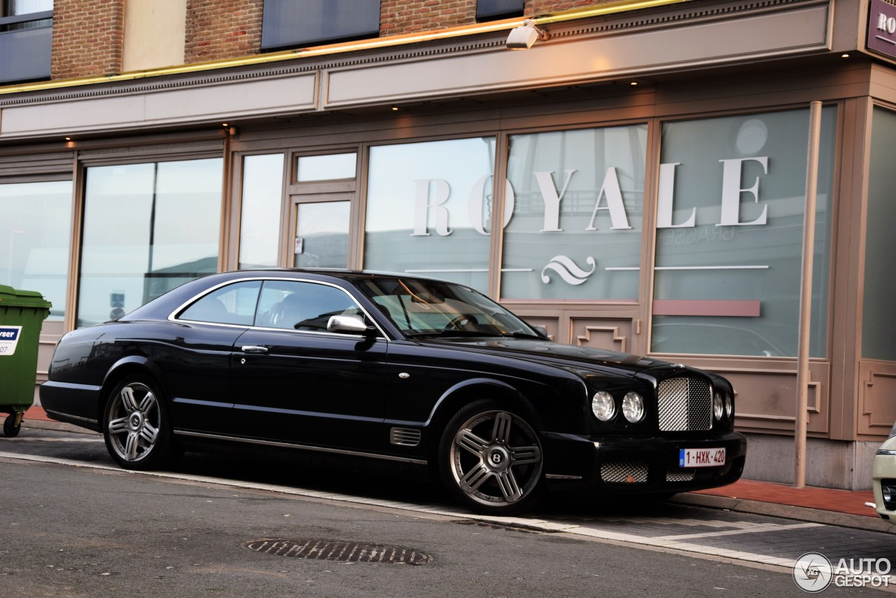 Bentley brooklands - black