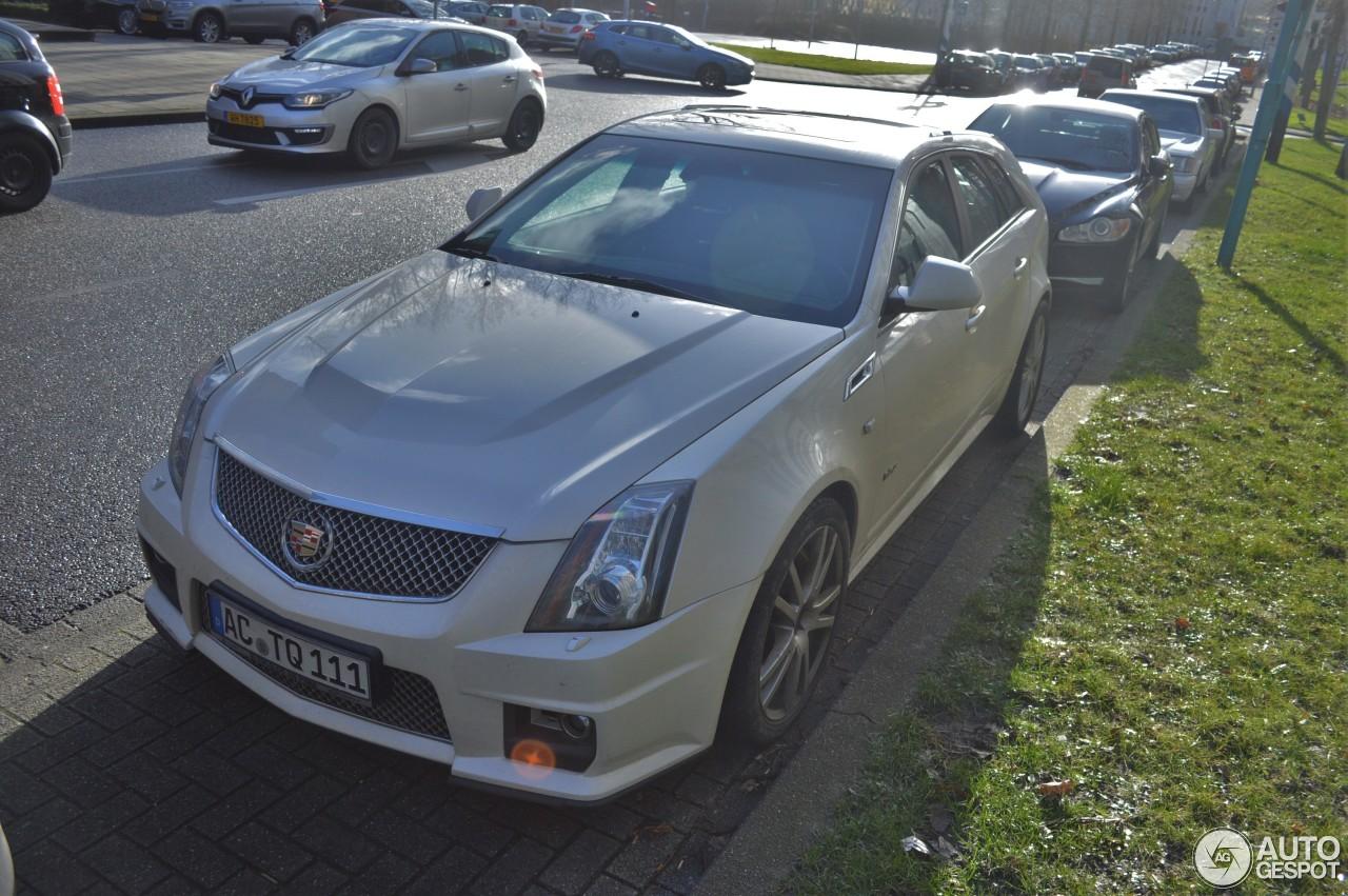Cadillac Cts V Sport Wagon 18 January 2016 Autogespot
