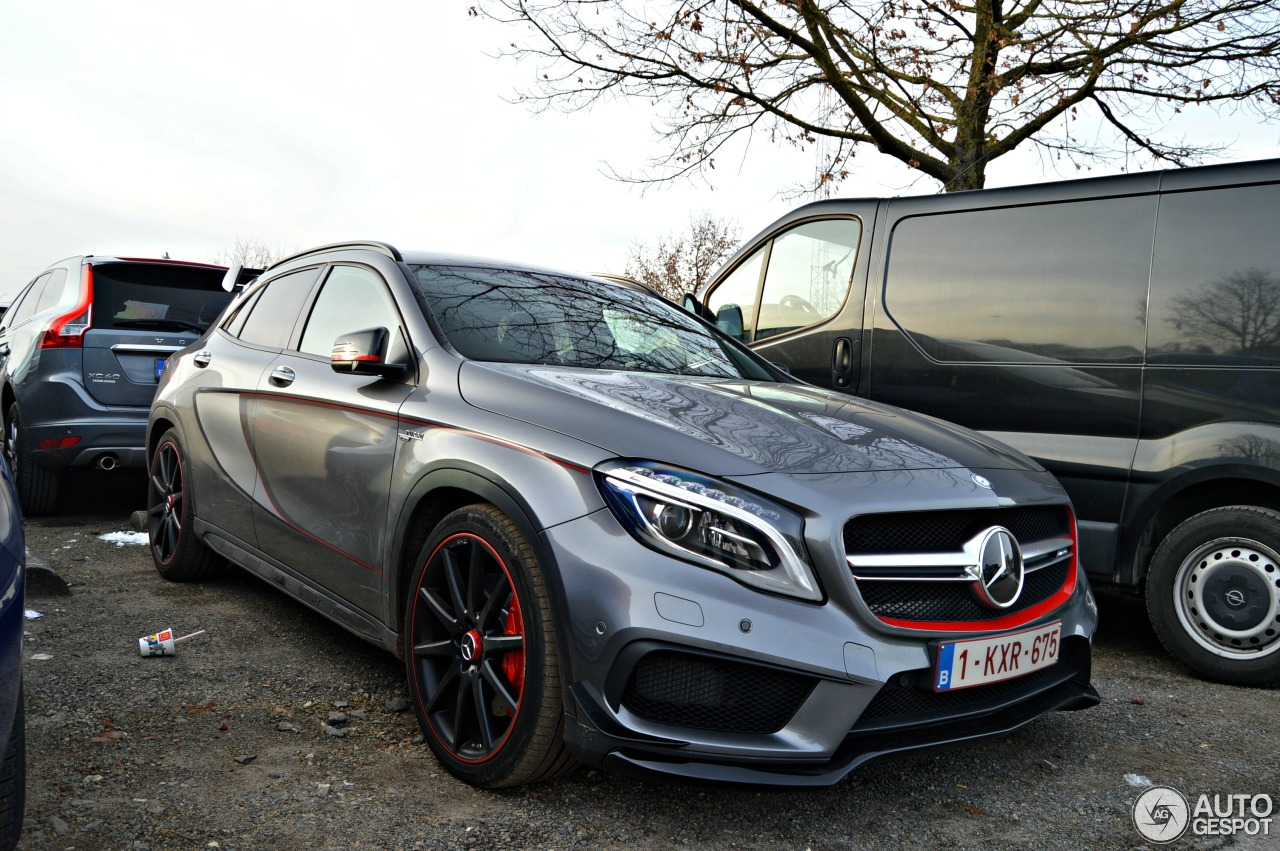2017 Amg Gla 45 Mercedes Benz >> Mercedes-Benz GLA 45 AMG Edition 1 - 18 January 2016 ...