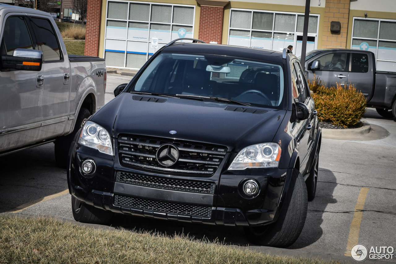 Mercedes benz ml 63 amg w164 2009 18 january 2016 for Mercedes benz w164