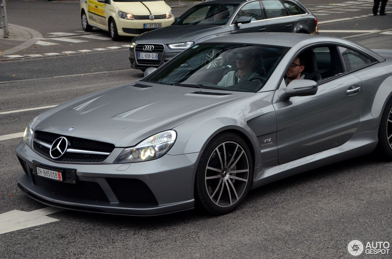 Mercedes benz sl 65 amg black series 19 january 2016 for Mercedes benz sl65 amg black series price