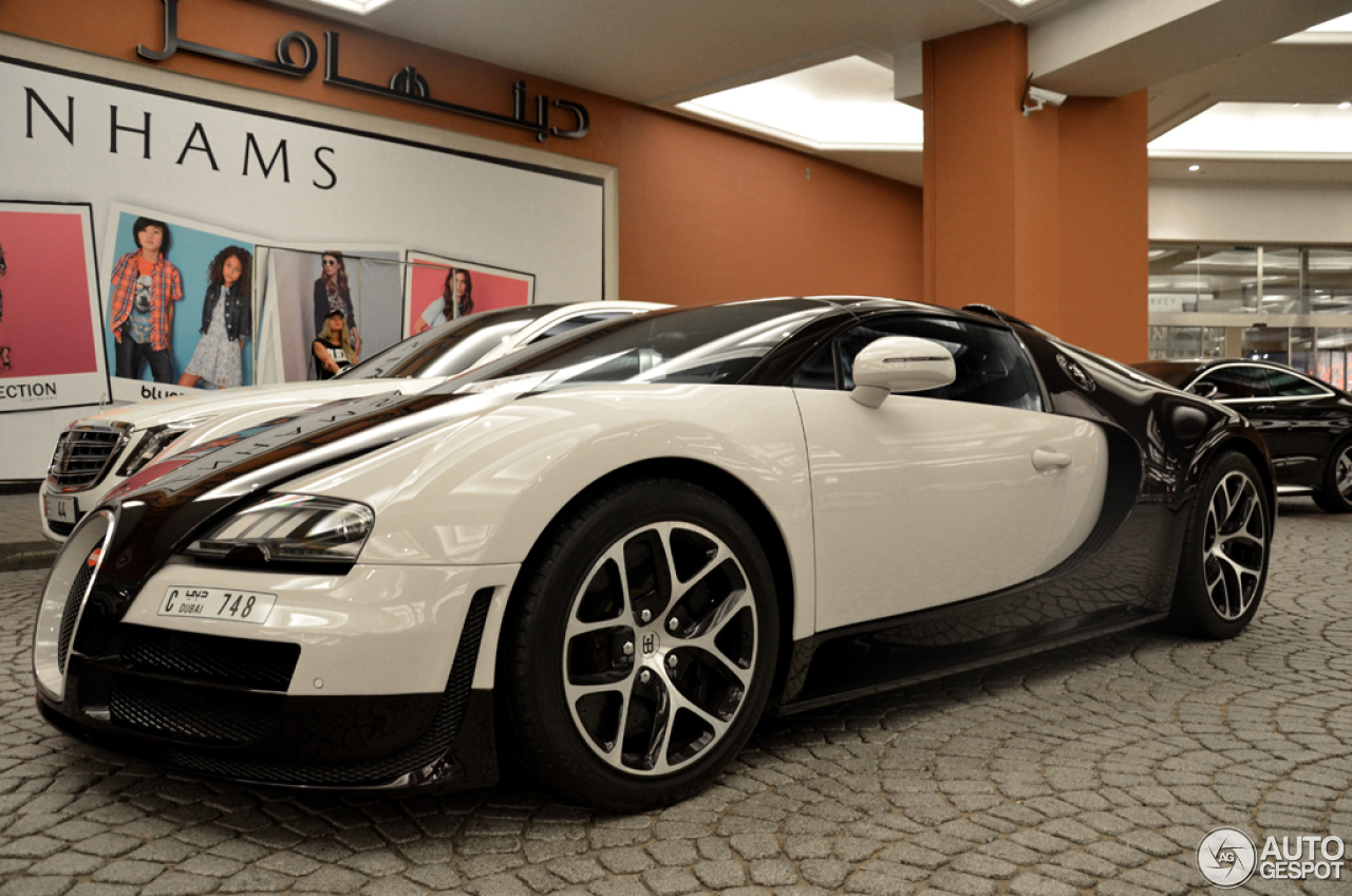 bugatti veyron 16 4 grand sport vitesse 20 2016 autogespot. Black Bedroom Furniture Sets. Home Design Ideas