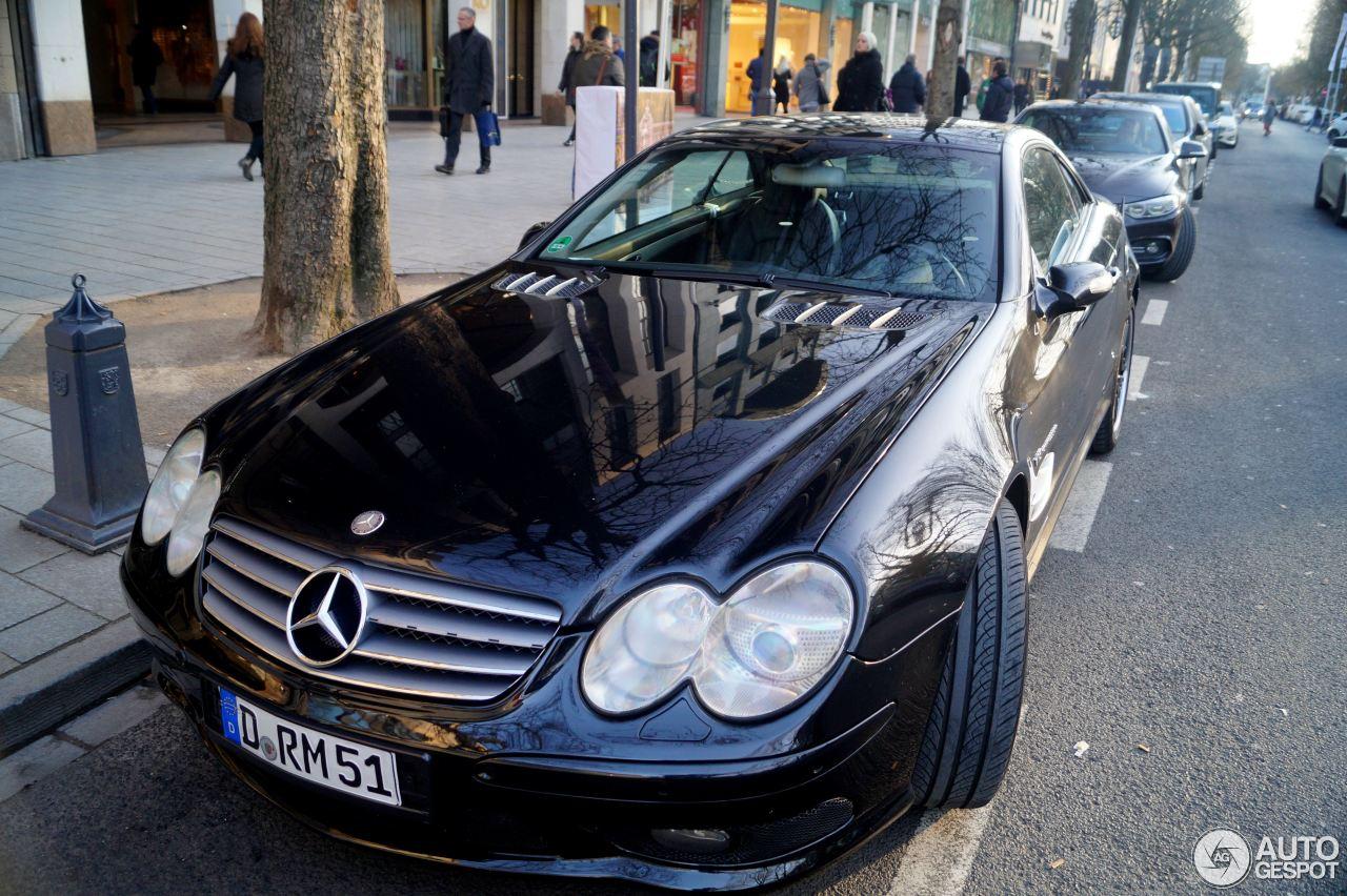Mercedes-Benz SL 55 AMG R230 3