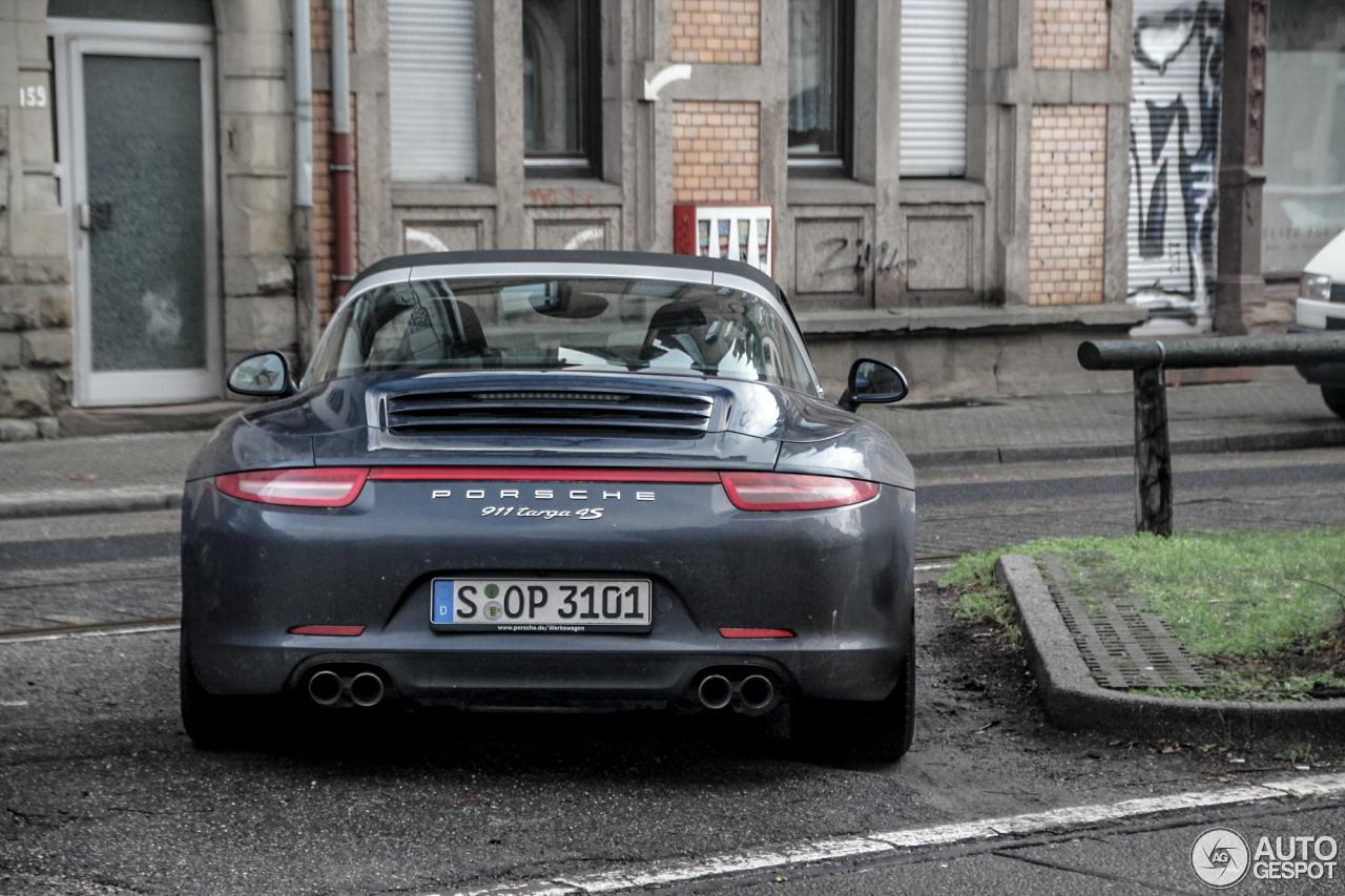 Porsche 991 Targa 4S 2