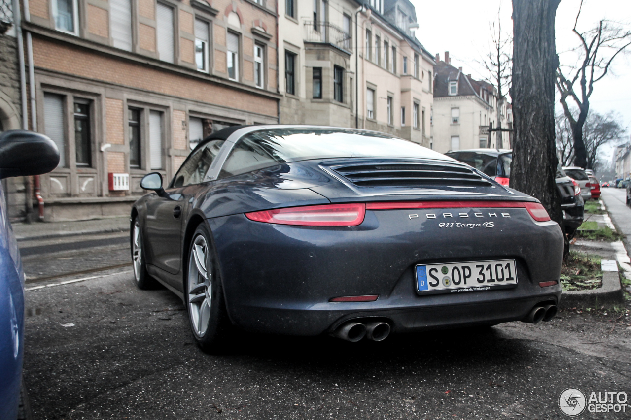 Porsche 991 Targa 4S 3