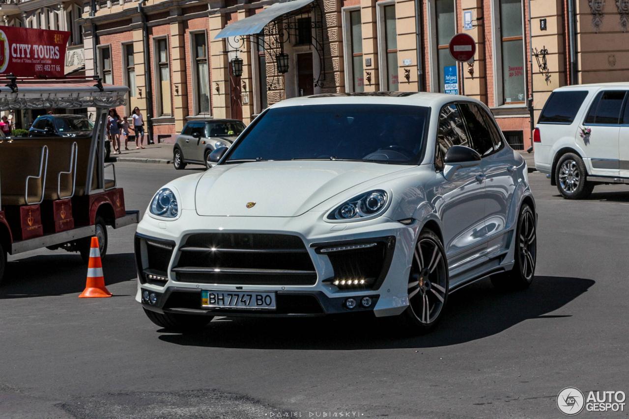 Porsche cayenne luma
