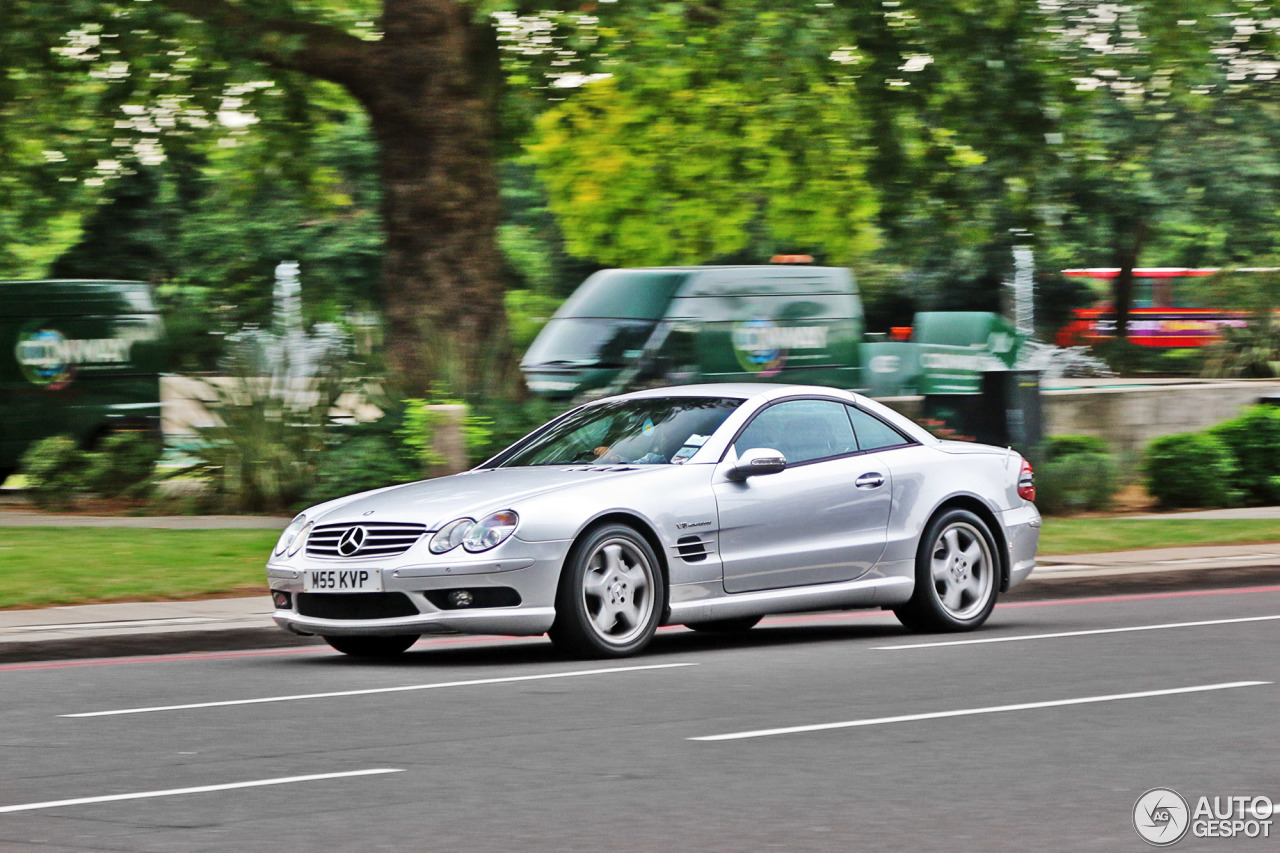 Mercedes benz sl 55 amg r230 22 january 2016 autogespot for Mercedes benz sl r230