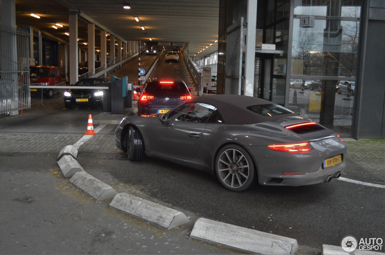 Porsche 991 Carrera S Cabriolet MkII  22 January 2016  Autogespot