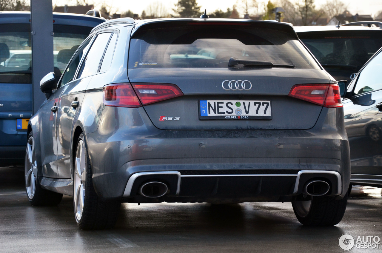 audi rs3 sportback 8v 23 january 2016 autogespot. Black Bedroom Furniture Sets. Home Design Ideas