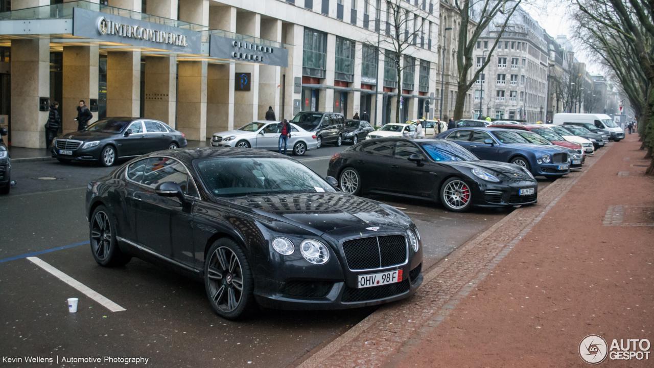 Bentley Continental GT V8 1
