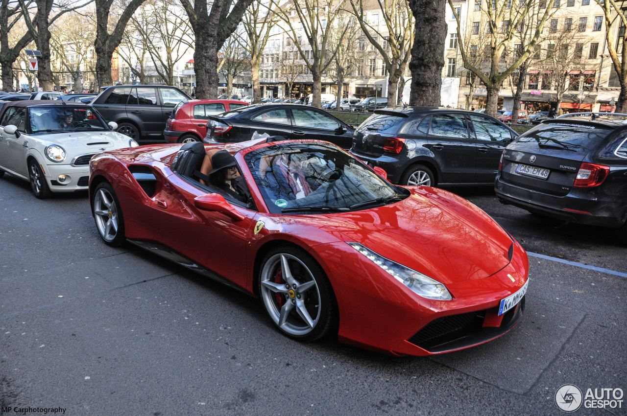 ferrari 488 spider 23 january 2016 autogespot. Black Bedroom Furniture Sets. Home Design Ideas